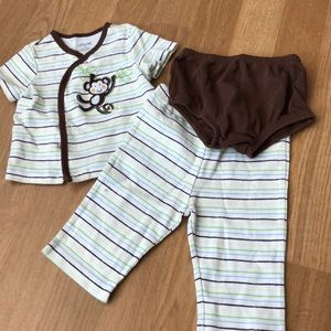 Little me brand baby outfit